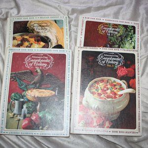 Women's Day Encyclopedia of Cookery Vol 1,2, 5, 6